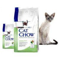 сухие корма для кошек cat chow
